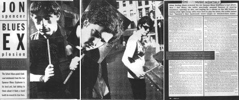 The Jon Spencer Blues Explosion - CMJ New Music Monthly: Acme Blues Explosives, INC [1300 Words] (PRESS, US)