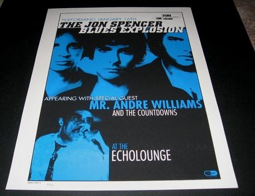 Jon Spencer Blues Explosion - Echo Lounge, Atlanta, GA, US (17 January 1999)