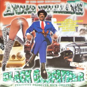 Andre Williams - Black Godfather (LP, US) - Cover