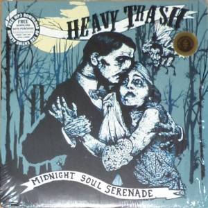 Heavy Trash - Midnight Soul Serenade (LP, US) - Cover