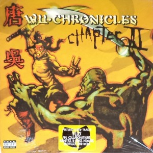 V/A feat. Jon Spencer Blues Explosion - Wu Chronicles Chapter II [#1] (2xLP, US)  - Cover