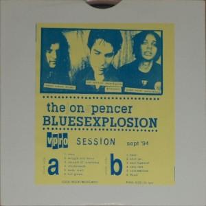 """The Jon Spencer Blues Explosion - Vpro Session: Devil's Blues [Bootleg] (10"""", NETHERLANDS) - Front"""