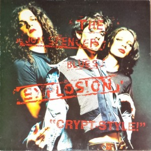 The Jon Spencer Blues Explosion - Crypt Style (LP, GERMANY) - Cover