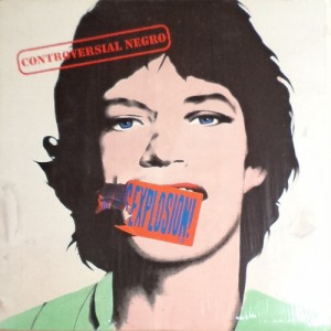 The Jon Spencer Blues Explosion - Controversial Negro [Promo] (LP, US) - Cover