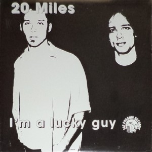 20 Miles - I'm a Lucky Guy (LP, US) - Cover