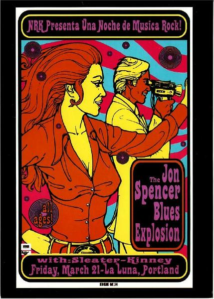 The Jon Spencer Blues Explosion - La Luna, Portland, US (21 March 1997)