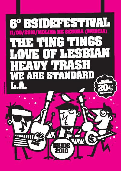 Heavy Trash - B-Side Festival, Murcia, Spain (11 September 2010)