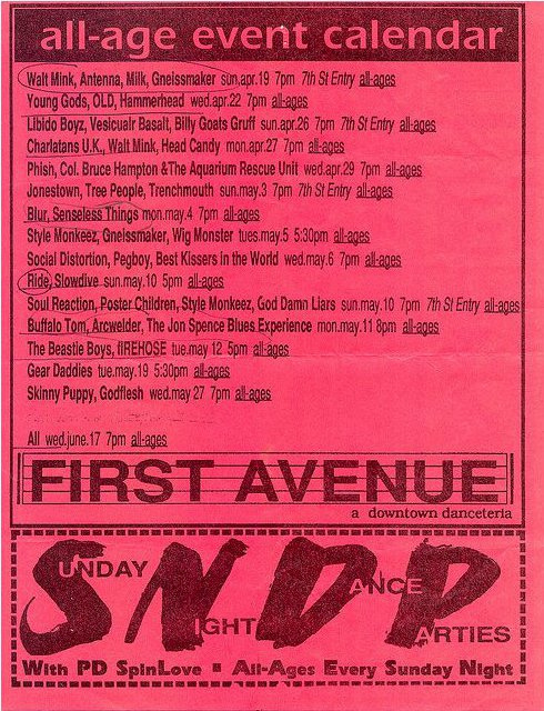 The Jon Spencer Blues Explosion - First Avenue & 7th St Entry, Minneapolis, MN, US (11 May 1992)