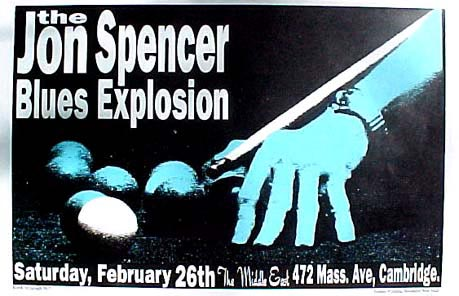 The Jon Spencer Blues Explosion - The Middle East in Cambridge, Massacheusetts, US  (26 February 1995)
