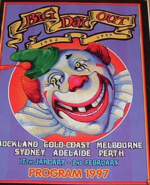 Jon Spencer Blues Explosion - Melbourne / Sydney, Australia (17 January - 2 February 1997)