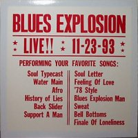 The Jon Spencer Blues Explosion - LIVE!! 11-23-93 [Yellow] [Bootleg] (LP, US) - Cover