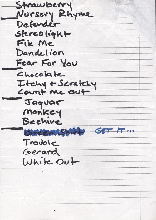 Boss Hog – Markthalle, Hamburg, Germany (20 April 2000)