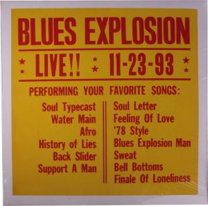 The Jon Spencer Blues Explosion – LIVE!! 11-23-93 [Black] [#3] [Bootleg] (LP, US) - Cover