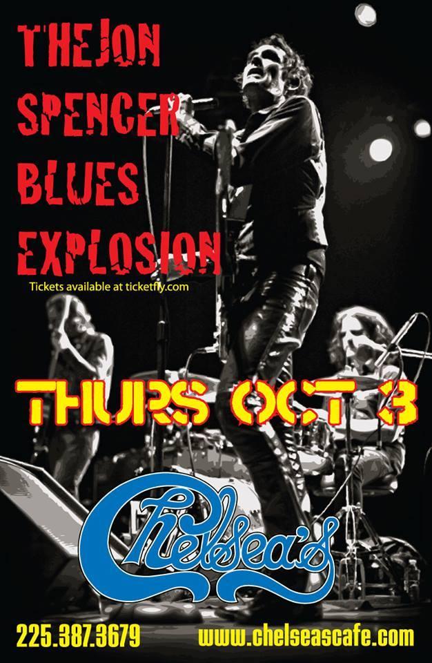 Jon Spencer Blues Explosion - Chelsea's Cafe, Baton Rouge, LA, US (3 October 2013)