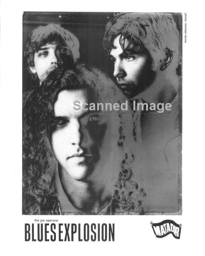 The Jon Spencer Blues Explosion - Promotional Photo [#21] (PHOTO, UK)