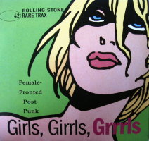 V/A feat. Butter 08 - Rare Trax Vol. 42: Girls, Girrls, Girrrls – Female Fronted Post-Punk (CD, GERMANY) - Cover