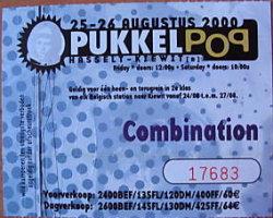 Boss Hog - Pukkelpop, Belgium (26 August 2000)