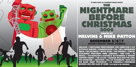 Boss Hog - ATP: The Nightmare Before Christmas, Minehead, UK (7 December 2008)