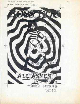 Boss Hog- London Astoria, London, UK (13 March 1996) - Front