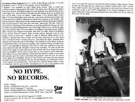The Jon Spencer Blues Explosion - Alright #2: Live Reviews/Son of Sam (PRESS, US)