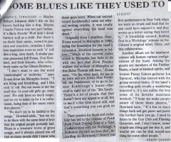 Gibson Bros. – Request: Some Blues Like They Used To [550 Words] (PRESS, US)