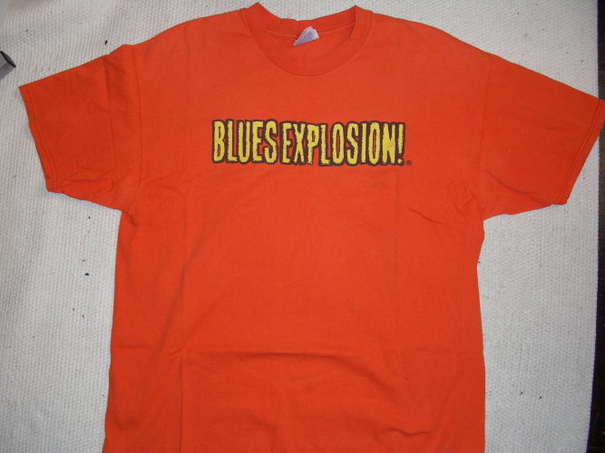 """The Jon Spencer Blues Explosion - """"Reese's Style"""" Logo (SHIRT, US) - Front"""