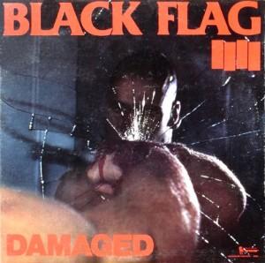 Black Flag -  Damaged (LP, US) - Cover