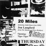 20 Miles – Echo Lounge, Atlanta, GA, US (23 October 2003)