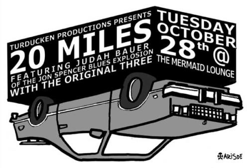 20 Miles - The Mermaid Lounge, New Orleans, LA, US (28 October 2003)