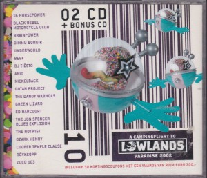 V/A feat. Jon Spencer Blues Explosion - A Campingflight To Lowlands Paradise (3xCD, NETHERLANDS) - Cover