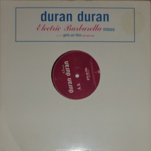 "Duran Duran - Electric Barbarella (12"", UK) - Cover"