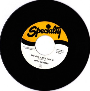 "Little Richard - The Girl Can't Help It (7"", US) - Disc - Side A"