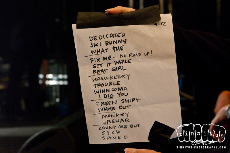 Boss Hog - ATP NY, Kutshers Country Club, Monticello, NY, US (12 September 2009) - Set List