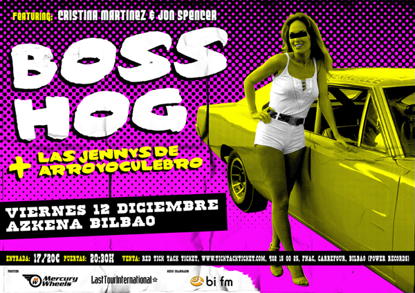Boss Hog - Azkena, Bilbao, Spain (12 December 2008)