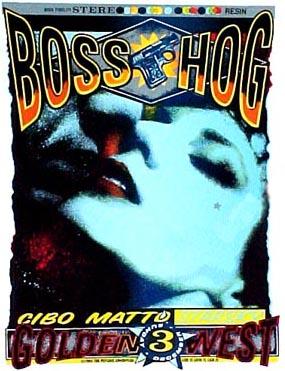 Boss Hog - Golden West Saloon, Alburqueque, New Mexico, US (3 December 1995)