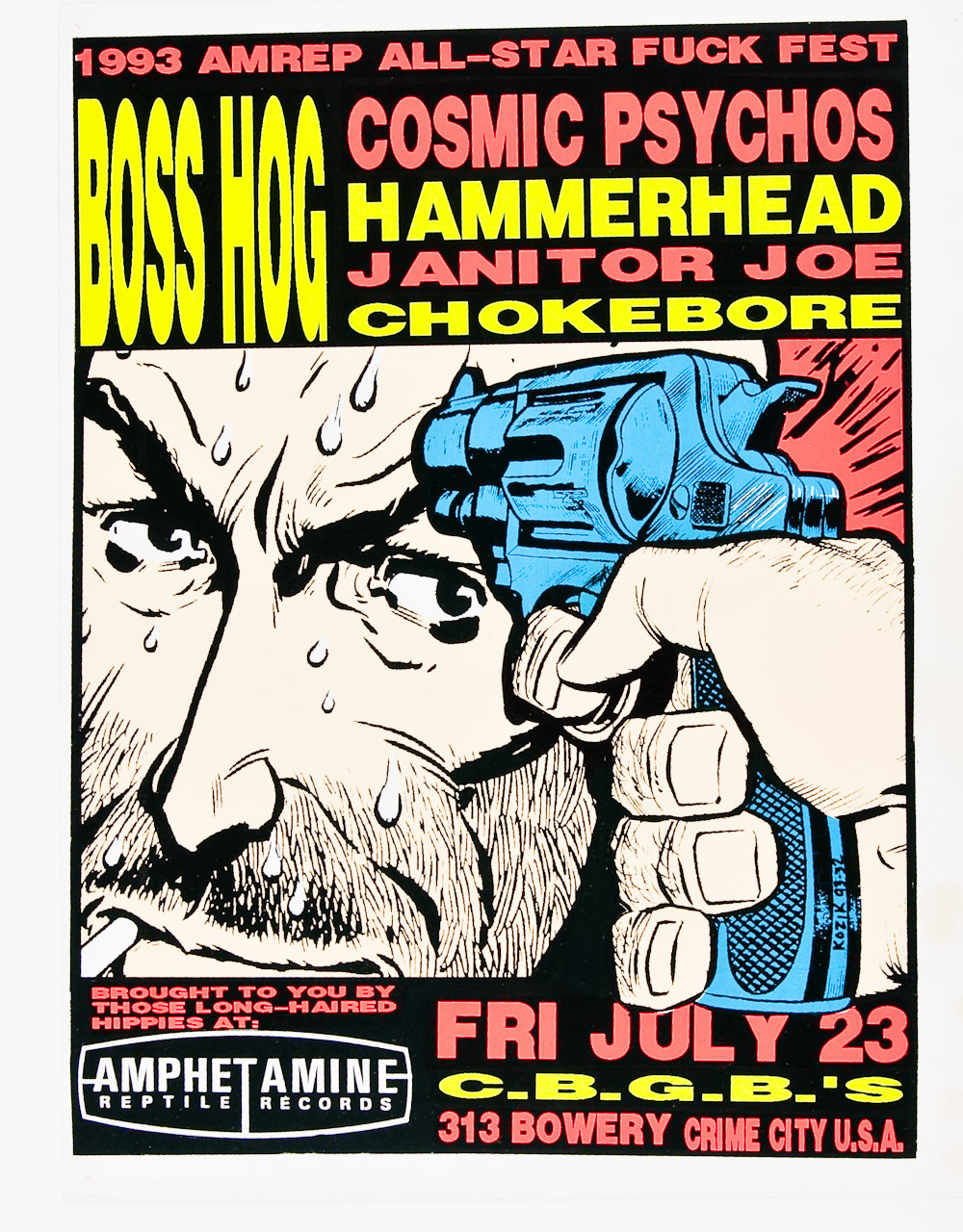 Boss Hog - CBGB's, New York City, NY, US (23 July 1993)