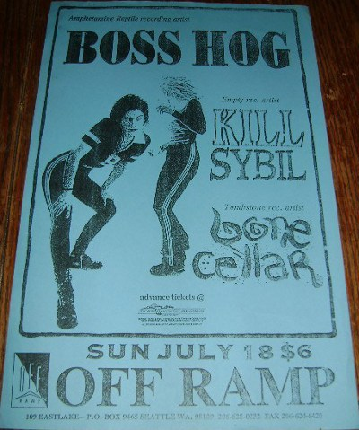 Boss Hog - Off Ramp, Seattle, WA, US (18 July 1993)