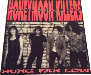 Honeymoon Killers - Hung Far Low [Black] (LP, US) - Cover