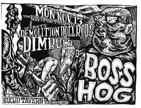 Boss Hog - Euclid Tavern, Cleveland, Ohio, US (13 November 1995)
