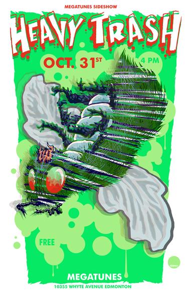 Heavy Trash - Megatunes, Edmonton, AB, Canada (31 October 2007)