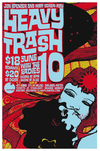 Heavy Trash - Starlight, Waterloo, Ontario, Canada (10 June 2006)