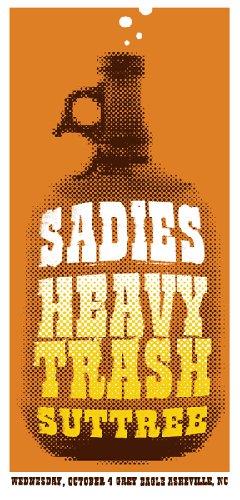 Heavy Trash - Grey Eagle, Asheville, NC, US (4 October 2006)