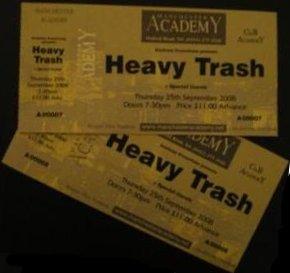 Heavy Trash - Manchester Academy 3, Manchester, UK (25 September 2008)