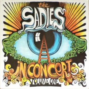 The Sadies - In Concert Volume One (3xLP, US) - Cover