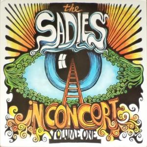The Sadies - In Concert Volume One (3xLP, US) - Cover