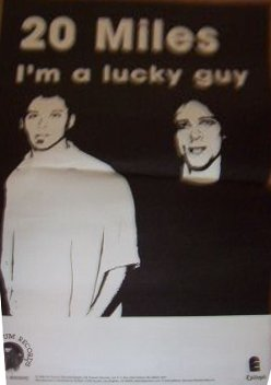 Twenty Miles - I'm A Lucky Guy (POSTER, US)