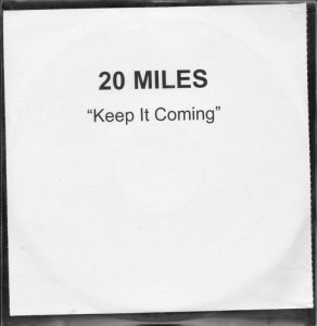 20 Miles - Keep It Coming... [Promo] (CD, US) - Cover