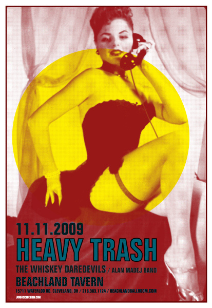 Heavy Trash - Beachland Tavern, Cleveland, Ohio, US (11 October 2009)