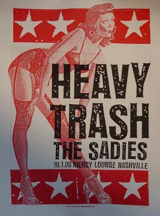 Heavy Trash - The Mercy Lounge, Nashville, Tennessee (1 October 2006)