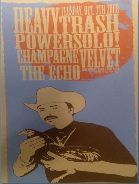 Heavy Trash - Echo, Los Angeles, CA, US (7 October 2008)